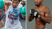 Pacquiao Spars With UFC Fighter