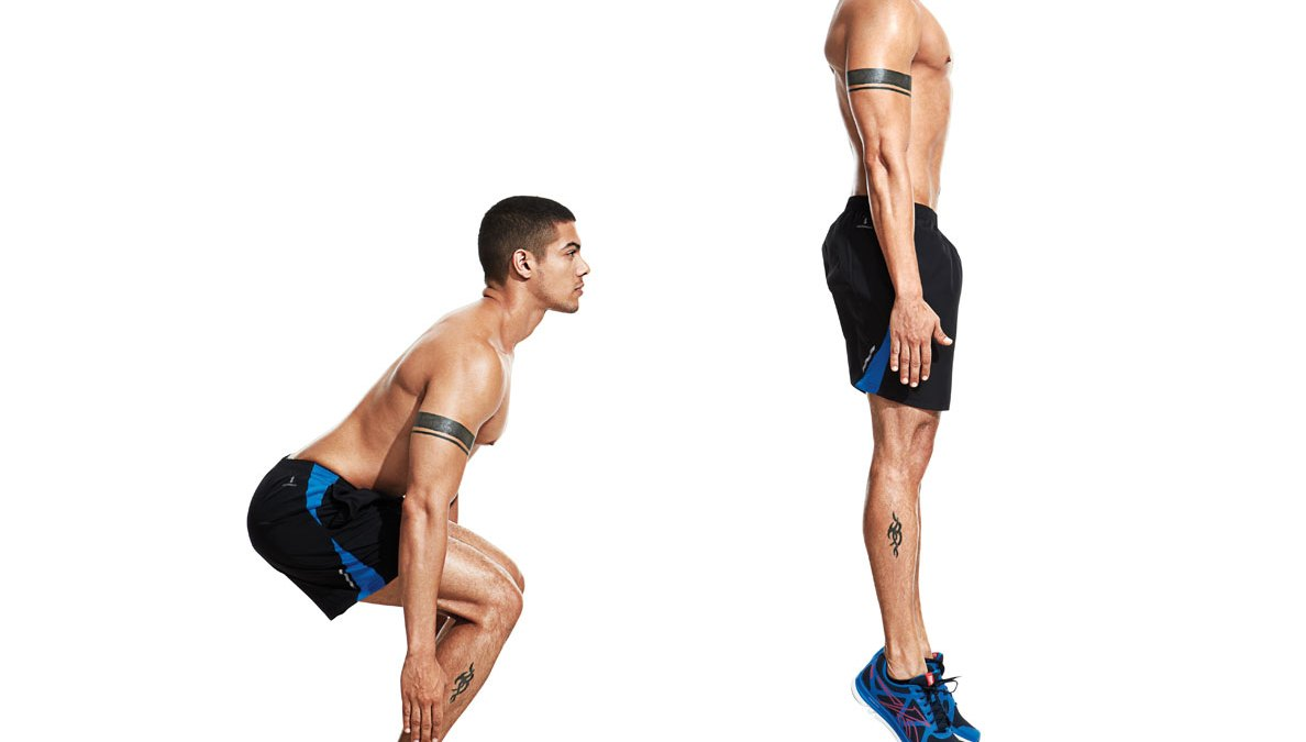 Power Up Your Jump Squats (Literally) | Men's Journal