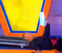 VIDEO: 'Price Is Right' Announcer Eats It on the Treadmill
