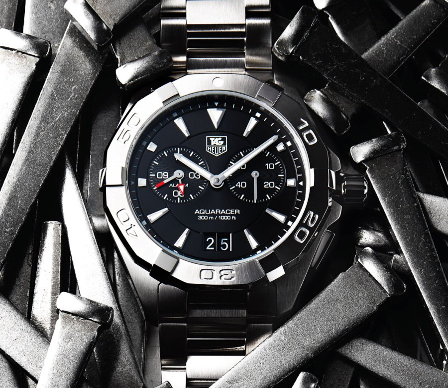 Six Tough, Steel-Banded Timepieces