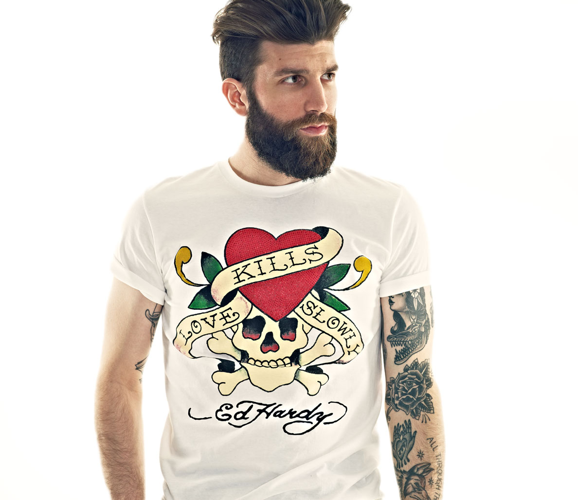 Top 6 Graphic T-Shirts From Ed Hardy. 7. by MEN'S FITNESS Editors