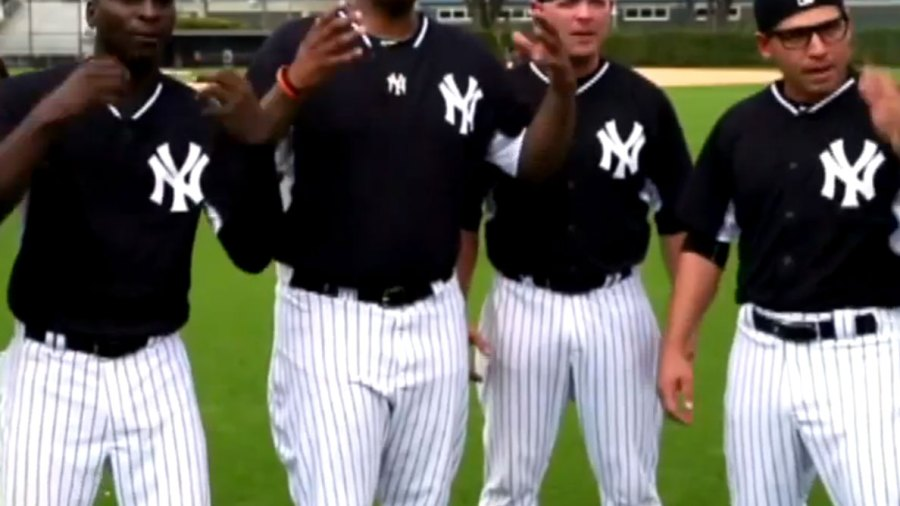 Yankees Players Recreate Timeless Scene From the Sandlot