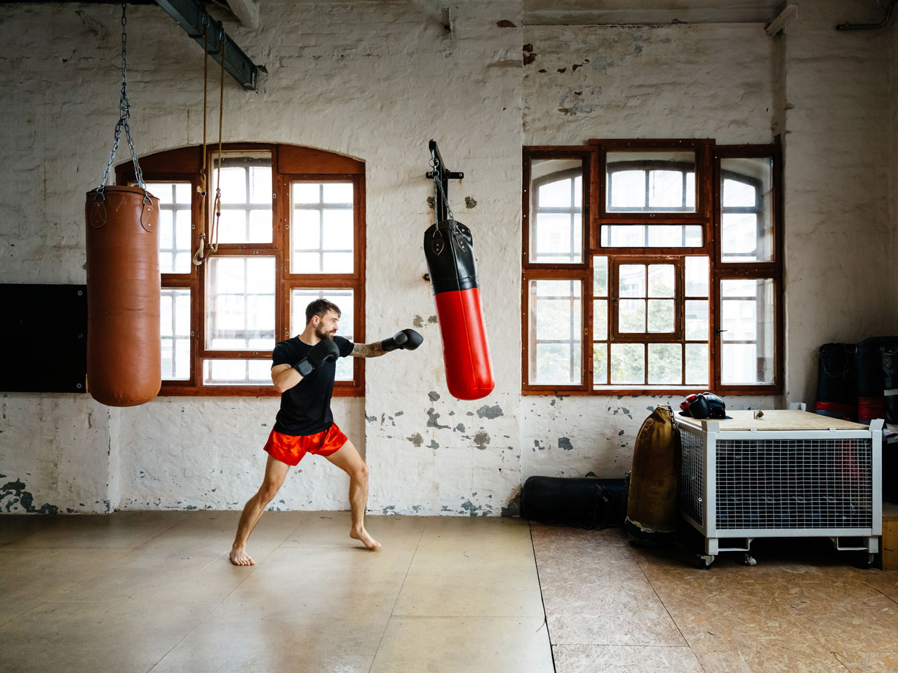 Boxing workouts that ll get you in fighting shape