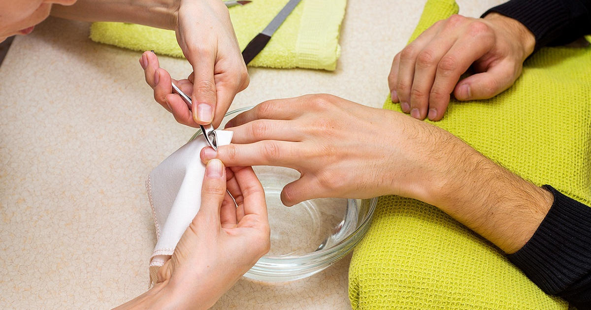 Do real men get manicures and pedicures?