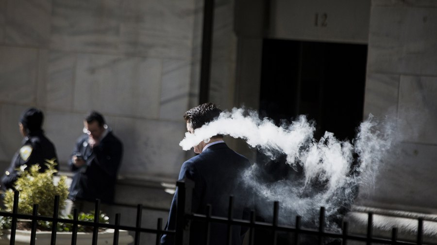 New York Bans Vaping Anywhere Cigarettes Are Also Banned