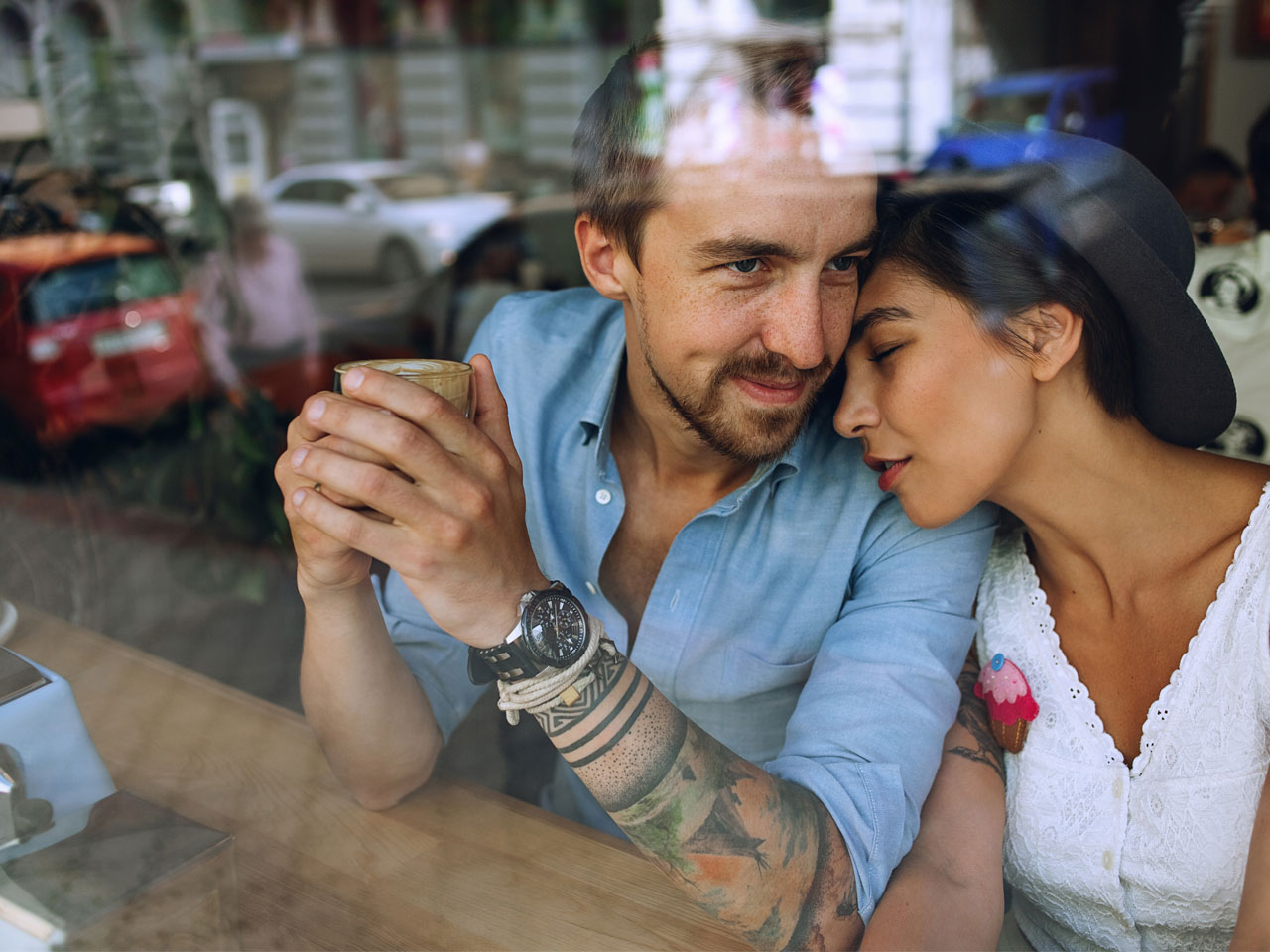 Inked guys dating