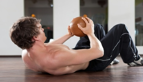 Increase Your Intensity With a Medicine Ball