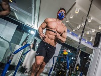 This Awesomely Jacked Guy Is Running 30 Treadmill Marathons in 30 Days