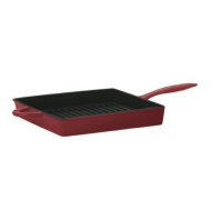 Mario Batali 11-inch Enameled Cast Iron Square Grill Pan