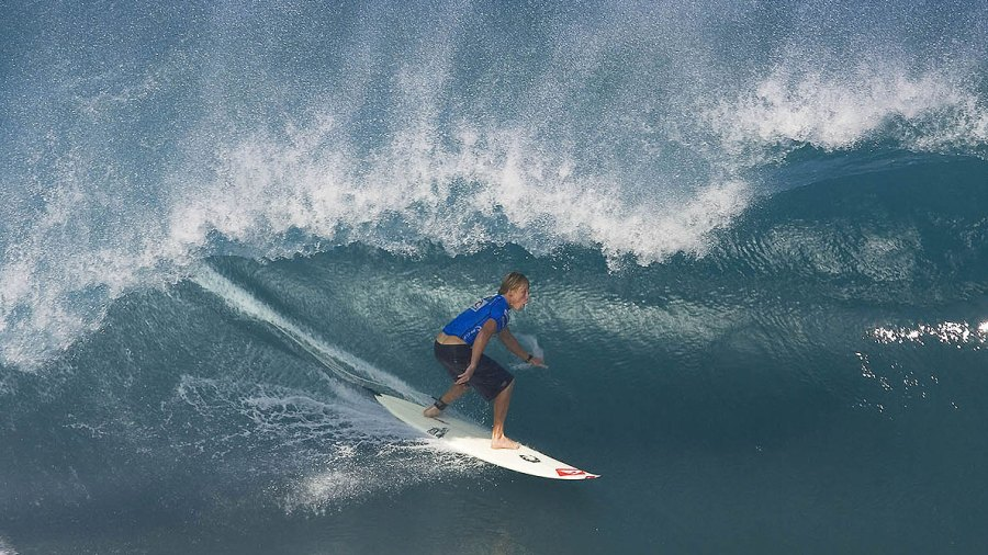 Mark Healey: the Surfer Who Tames Great White Sharks