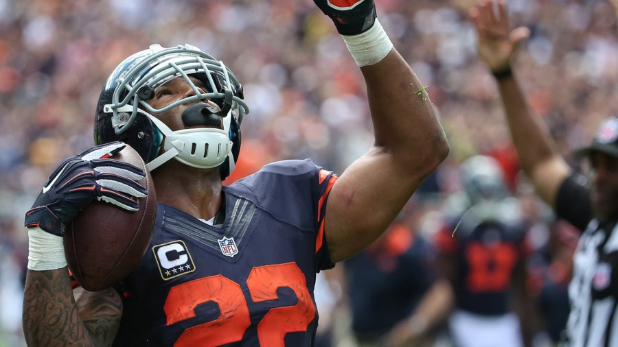 Matt Forte Plays Words With Friends Against His Teammates, Because of Course He Does
