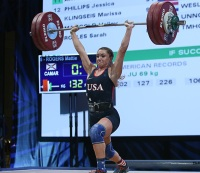 Team USA's Mattie Rogers Claims 3 Golds at World University Weightlifting Championships