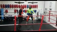 Watch: McGregor trains in boxing
