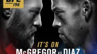Conor McGregor is set to fight Nate Diaz at UFC 196.