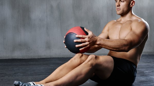 Metabolic medicine ball workout