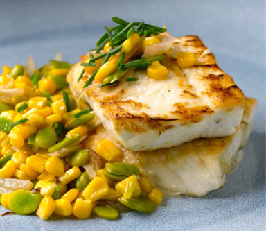 Recipe: Roasted Halibut