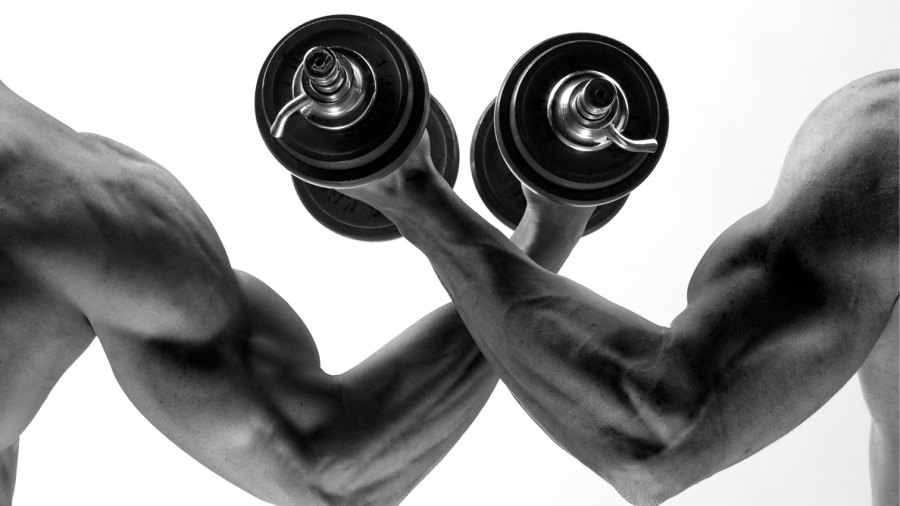 Wanna Lose Weight? Work Out With a Jacked Gym Partner