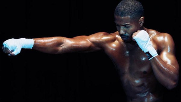 Michael B. Jordan in Men's Fitness December 2015 Issue