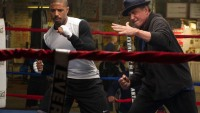 "Adonis Johnson (Michael B. Jordan) and Rocky Balboa (Sylvester Stallone) train in ""Creed."""