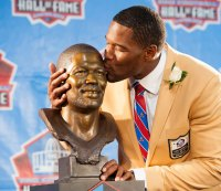 Five Highlights From Michael Strahan's Hall of Fame Speech
