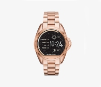 Michael Kors Access Bradshaw Rose Gold-Tone Smartwatch