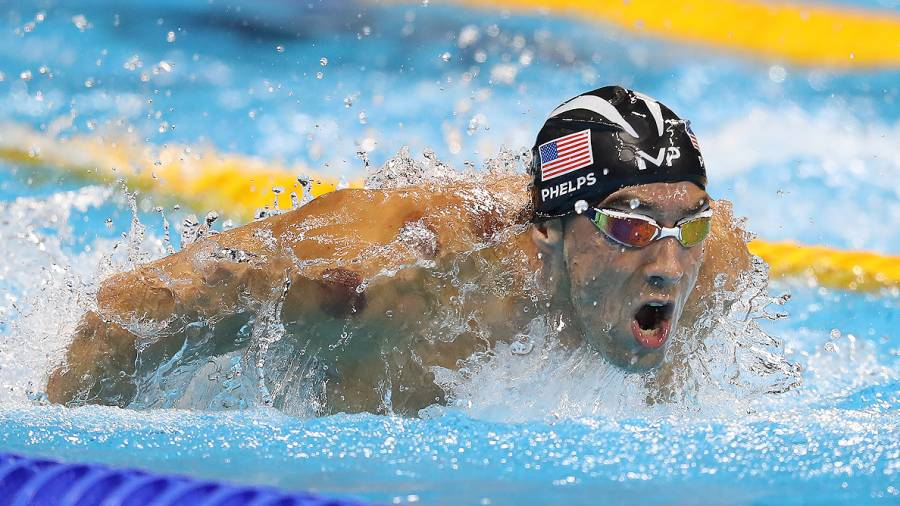 Michael Phelps Stares Down South African Swimmer, Beats Him in Butterfly Semifinal
