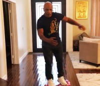 Mike Tyson falls down, goes boom.