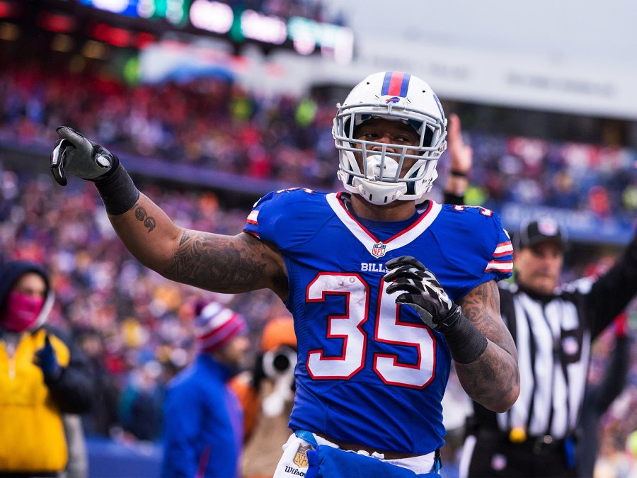 Mike Gillislee (RB, BUF) – 32% Owned