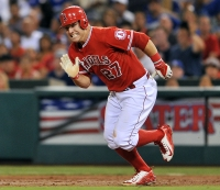 Mike Trout, Outfielder, Los Angeles Angels of Anaheim