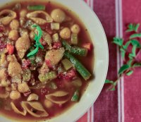 6. Quick minestrone soup