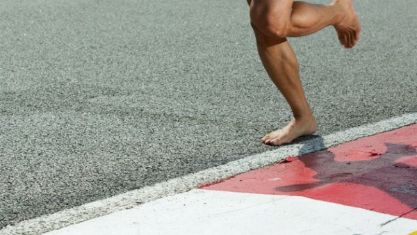 How to Survive Barefoot Running: Take It Slow