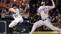 Los Angeles Dodgers and Houston Astros World Series, Clayton Kershaw and Jose Altuve