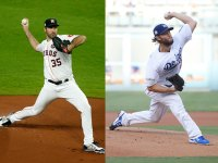 Los Angeles Dodgers and Houston Astros World Series, Clayton Kershaw and Justin Verlander