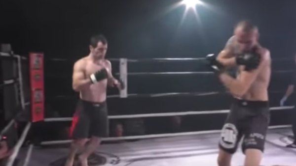 Watch: MMA fighter re-sets opponent's dislocated shoulder