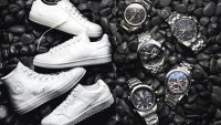 The sleekest sneakers and watches of spring 2017