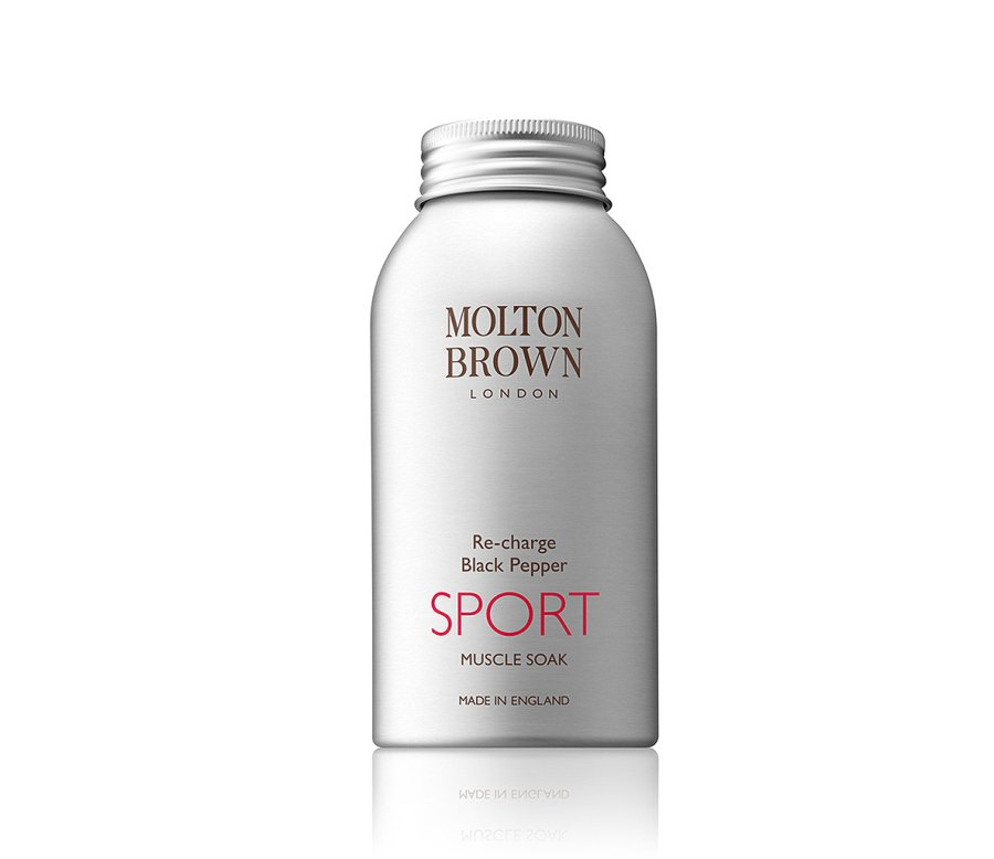 2. Recharge Black Pepper SPORT Muscle Soak by Molton Brown