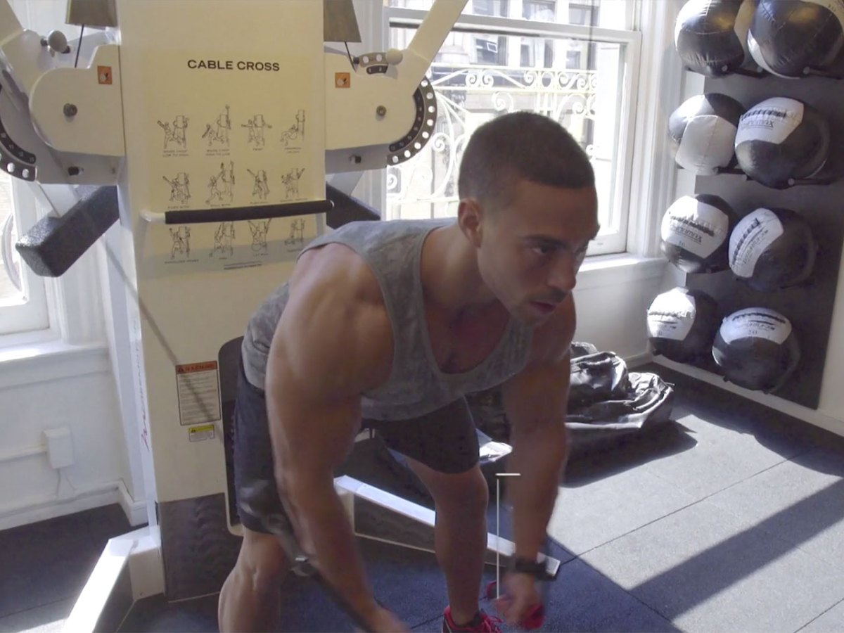This Old-school Training Technique Will Blow Up Your Chest