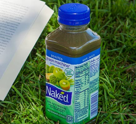 Naked juice in a bed 11