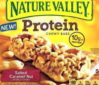 3) Nature Valley Protein bars