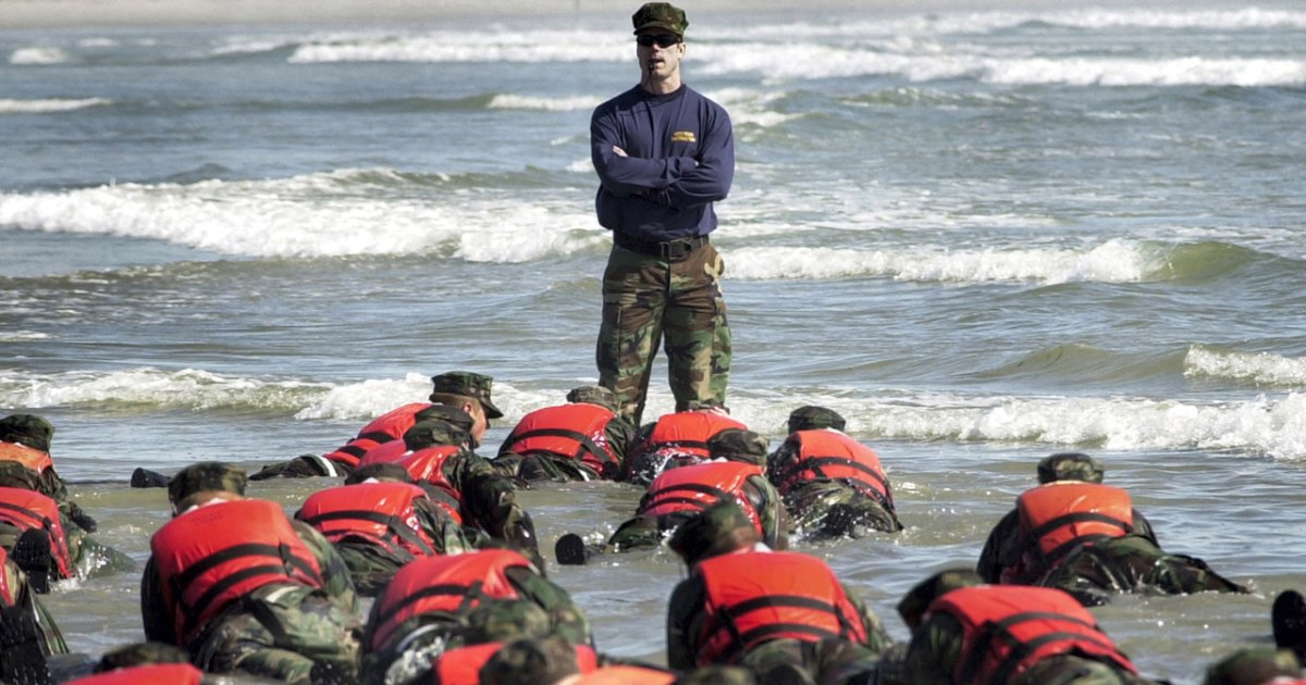 How to train like a Navy SEAL