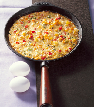 NBA FIT Live Week Healthy Recipes: Marc Forgione's Spicy Frittata