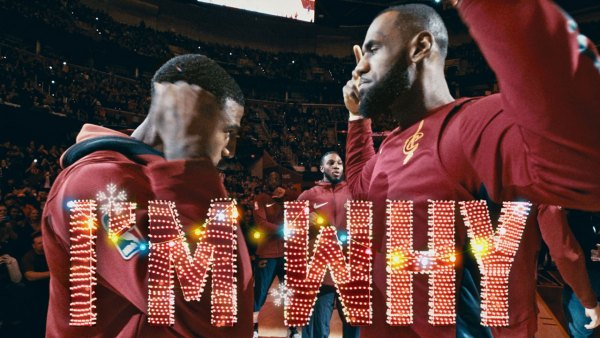 LeBron James #23 of the Cleveland Cavaliers