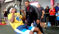 NBA All-Stars Try CrossFit
