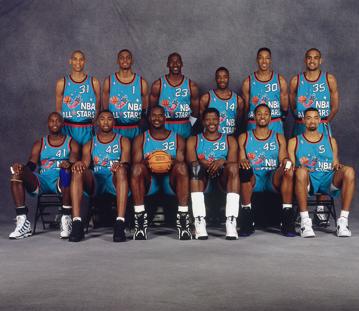 457da9856b47 1995 Eastern Conference All-Star Game Jerseys