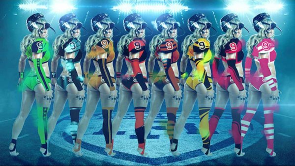 Legends Football League uniforms 2017 / @myLFL via Instagram