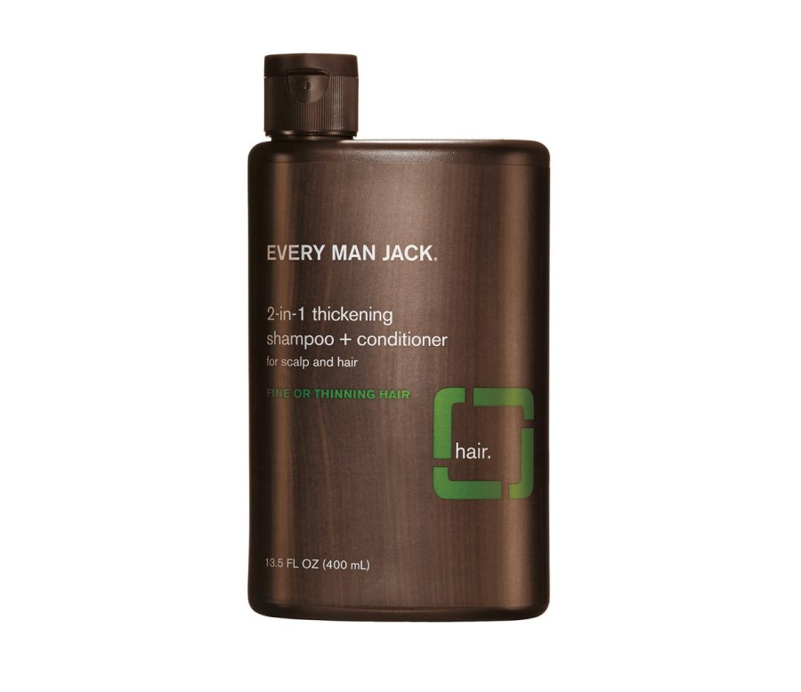 9. Every Man Jack 2-in-1 Thickening Shampoo