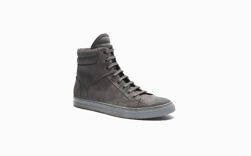 Kenneth Cole Double Header Suede Sneaker