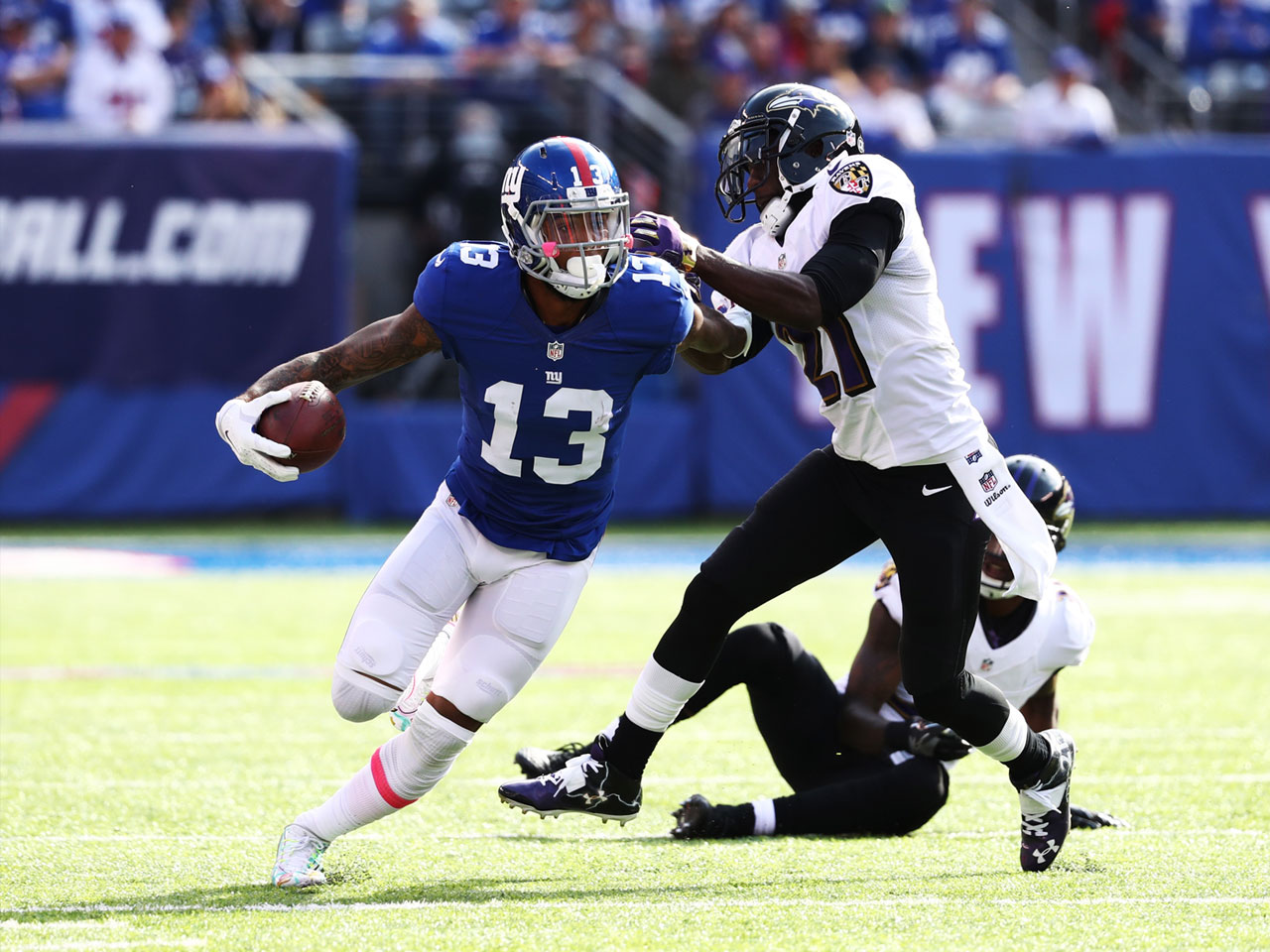 How Odell Beckham Trains to Get Even More Explosive