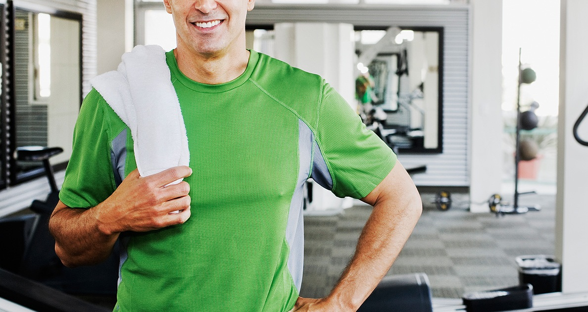 How to gain muscle for men over 40