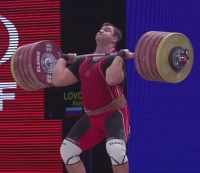 Russian Weightlifter Aleksey Lovchev Breaks World Record in Clean and Jerk